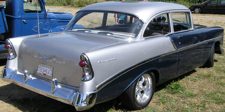 56 Chevy 2dr Sedan