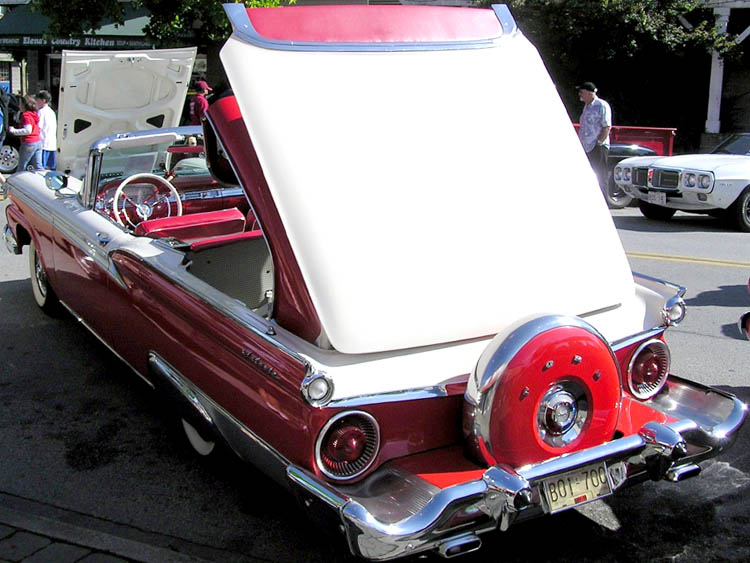 59 Ford Retractable Convertible