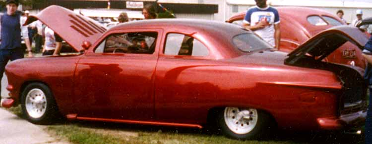 50 Ford Business Coupe Leadsled