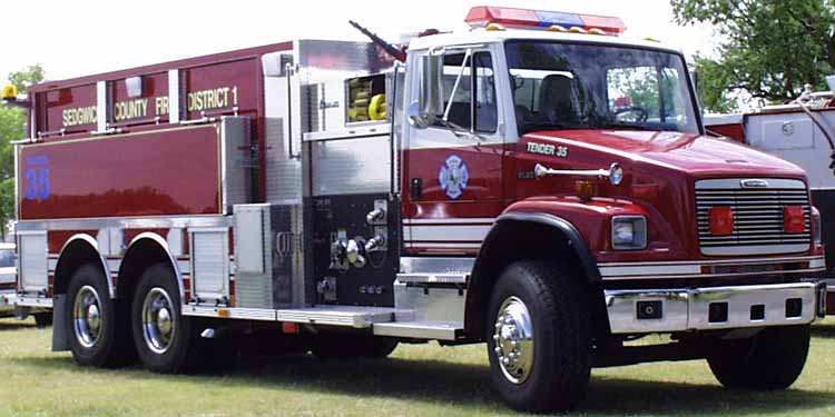 99 SCFD Fire Engine