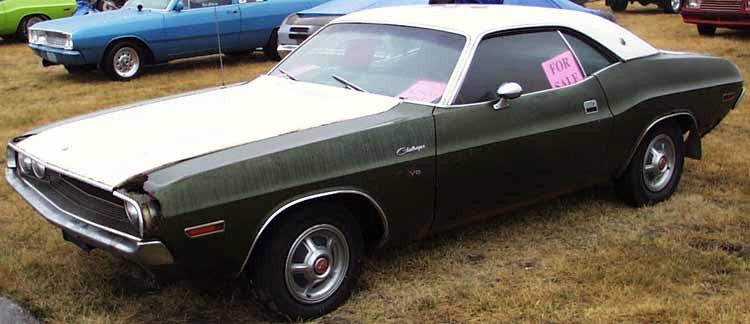 70 Dodge Challenger Coupe