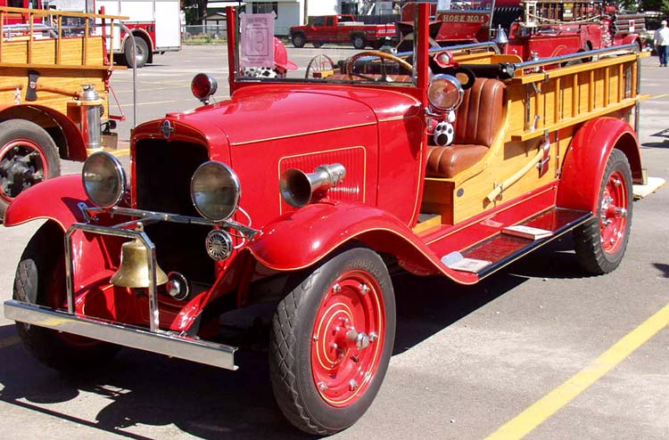 30 Chevy Ladder Truck