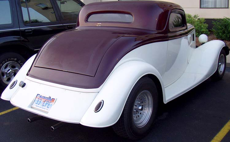 33 Ford Chopped 3W Coupe