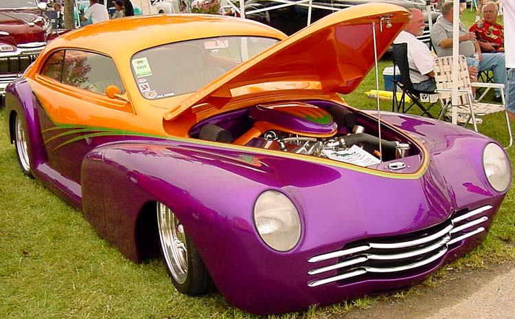 47 Chevy Chopped Coupe Custom