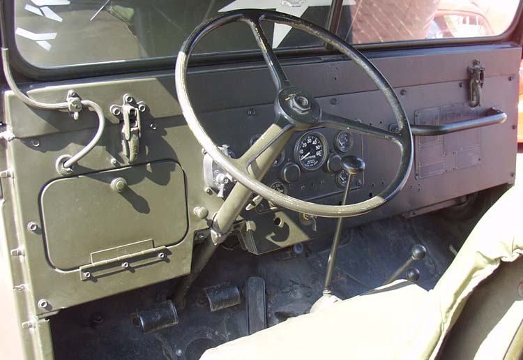 54 Willys M38 Military Jeep Dash