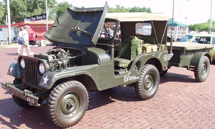 54 Willys M38 Military Jeep 4x4