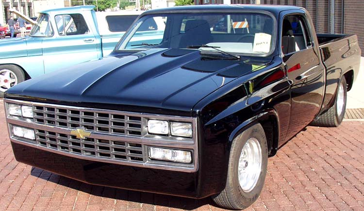88 Chevy Chopped SWB Pickup