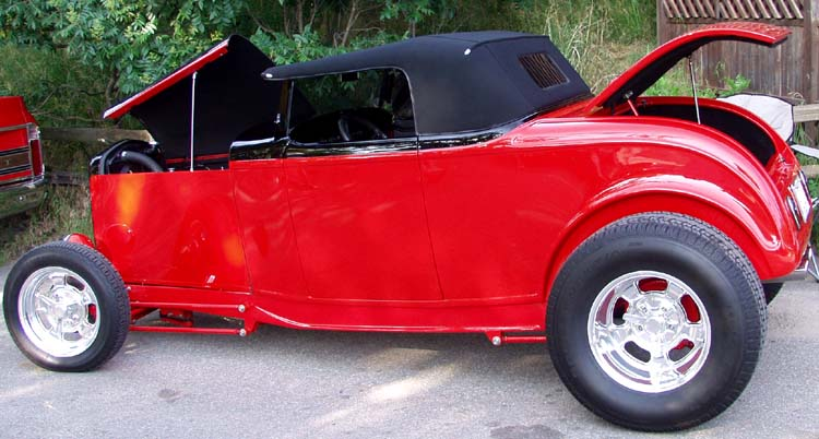 32 Ford Hiboy Roadster