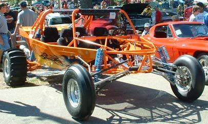 Four Place Rail Dune Buggy