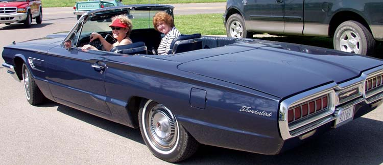 65 Thunderbird Convertible