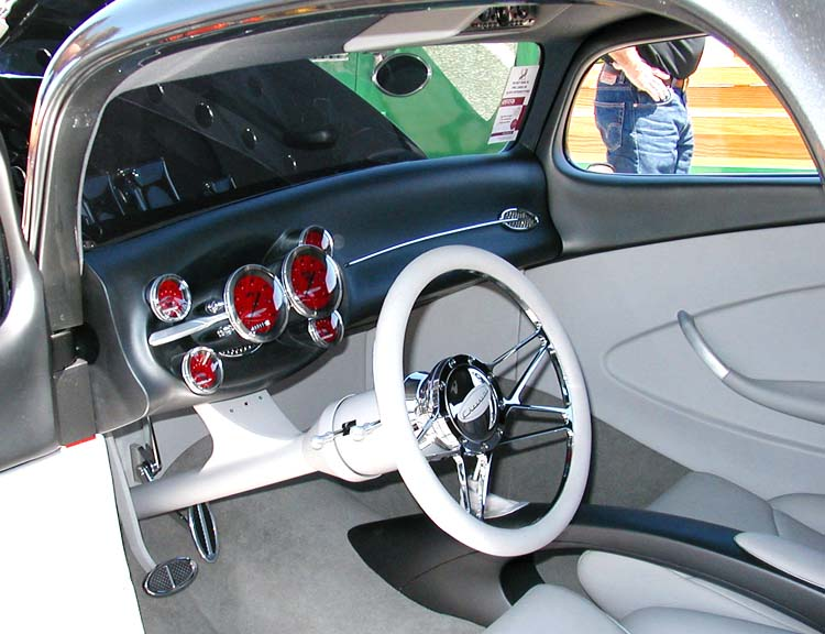 33 Chevy Custom Dash