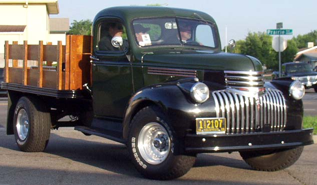 46 Chevy Flatbed Pickup