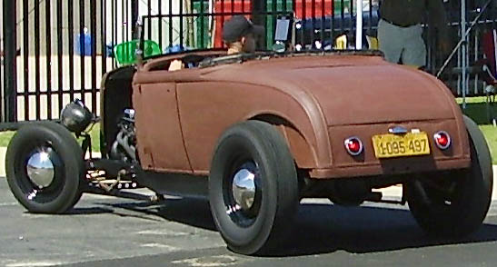 30 Ford Model A Hiboy Roadster