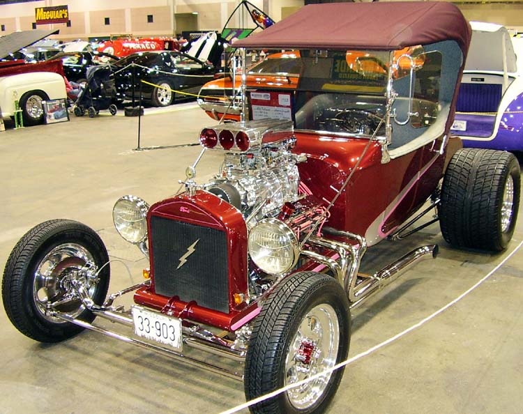 22 Ford Model T Bucket Roadster