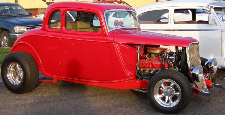 33 Ford Hiboy 5W Coupe