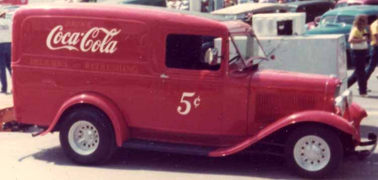 32 Ford Panel Delivery