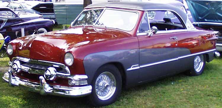 51 Ford 2dr Hardtop