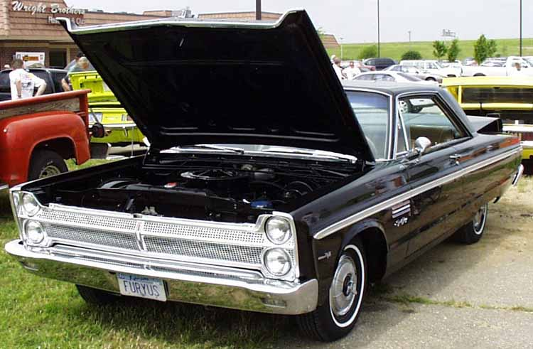 65 Plymouth Sport Fury 2dr Hardtop