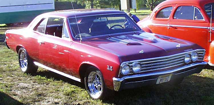 67 Chevelle 396 SS 2dr Hardtop