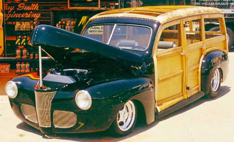41 Ford Woodie Station Wagon